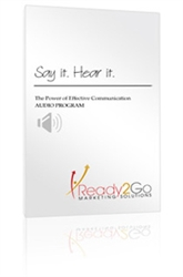 Say It, Hear It - Audio Training Program