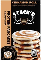 STACK'D Protein Pancakes - Cinnamon Roll (1 lb)
