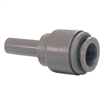 "John Guest Push Fitting 1/2"" stem - 3/8"" straight"