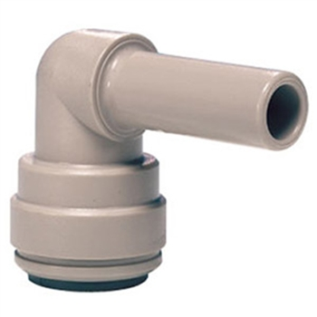 "John Guest Push Fitting 1/2"" Stem - 1/2"" elbow"