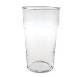 "British 1 pint ""Nonic"" glass w/ CE stamp."