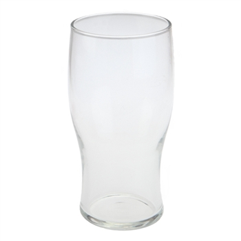"British 1 pint ""Tulip"" glass w/ CE stamp"