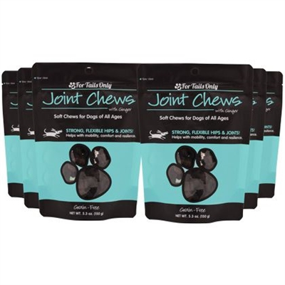 For Tails Only Joint Chews for Dogs 6Pack