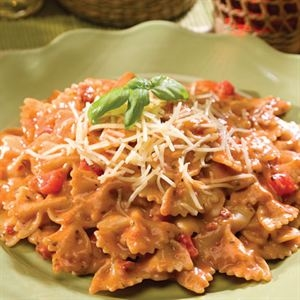Youngevity Creamy Tuscan Pasta with Sundried Tomatoes. May be used for emergency food storage with a 20 year shelf life