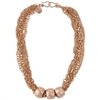 Zoe Rose Gold Mialisia Necklace