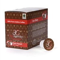 Youngevity Healthy Coffee Y Cups FTO Dark Roast