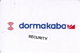 DormaKaba Security Card Credentials