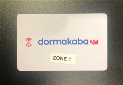 KABA RT Construction Cards - Zone 1-5
