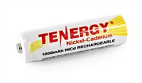 Tenergy AA Rechargeable NiCD Battery (4-pack)
