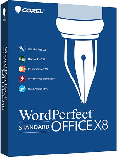 WordPerfect Office X8 Standard