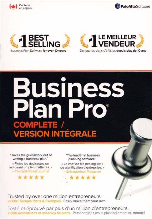Business plan pro standard edition palo alto software.