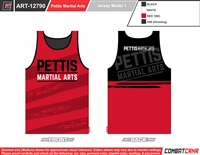 Pettis Martial Arts Custom Sublimated Jersey