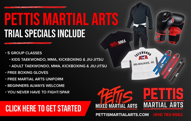 PETTIS MARTIAL ARTS ADULT & KIDS TRIAL SPECIALS