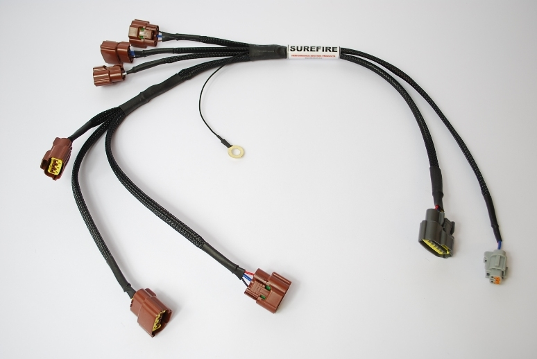 nissan skyline r32 gts rb25 de coilpack wiring harness