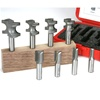 8-Piece Metric INCRA HingeCrafter Router Bit Set