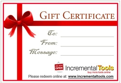 Incremental Tools Gift Certificate