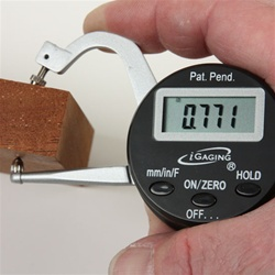 "iGaging 0-1"" Digital Thickness Gauge"
