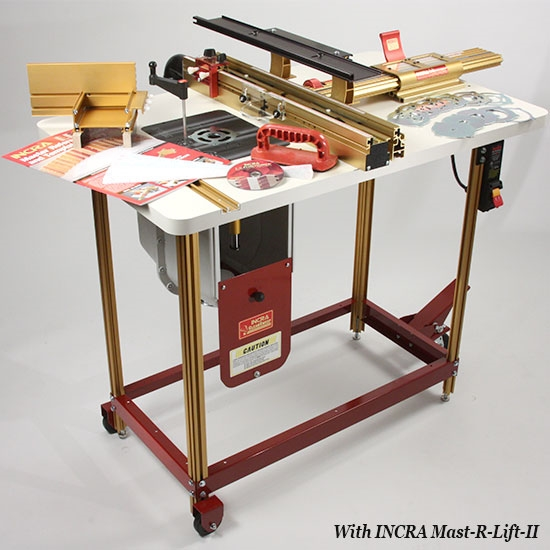 Incra router fence table combo 3 the works greentooth Gallery