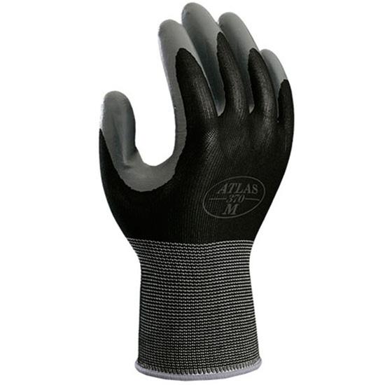 garden gloves. Atlas 370 Gardening Gloves (M-Black) Garden O