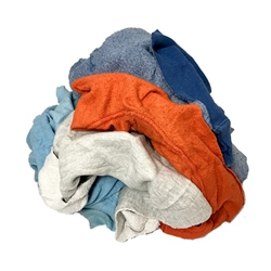 Reclaimed Colored Fleece Rags