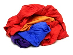 New Colored T-Shirt rags