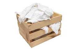 White Wash Cloths in Bulk