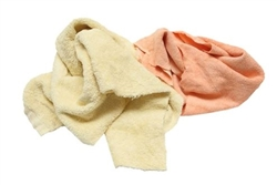 Reclaimed Colored Terry Towel Rags