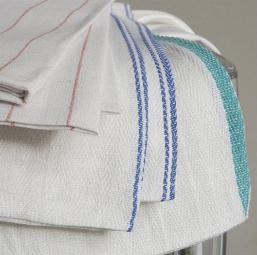 Kitchen Towels Bulk - Lint Free Herringbone Towels | RagsCo