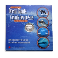 1998 50c Ocean Giants - Killer Whale