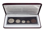 1998 (1908-) Proof Set - Special Limited Edition - 90th Anniversary of the Royal Canadian Mint - Matte Issue