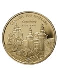 $100 1995 Gold Coin - 275th Anniversary of the Founding of Louisbourg