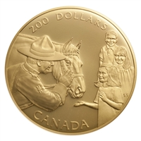 $200 1993 Gold Coin - Royal Canadian Mounted Police