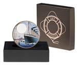 $2 2012 Coloured Bronze Coin - RMS Titanic Day