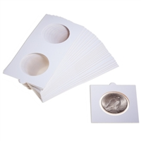 Self Adhesive 2.5x2.5 Coin Holders Eagle/Crown