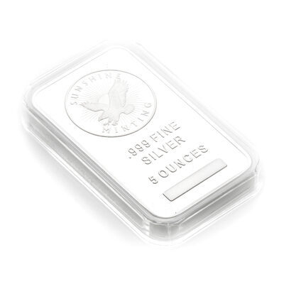 Capsule for 5 oz. Silver Bar