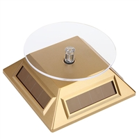 Solar Rotating Stand - Gold