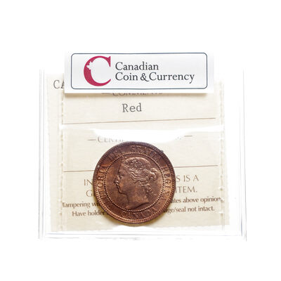1 cent 1895 Red ICCS MS-64