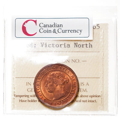 1 cent 1900 Red ICCS MS-65