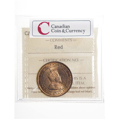 1 cent 1905 Red ICCS MS-64