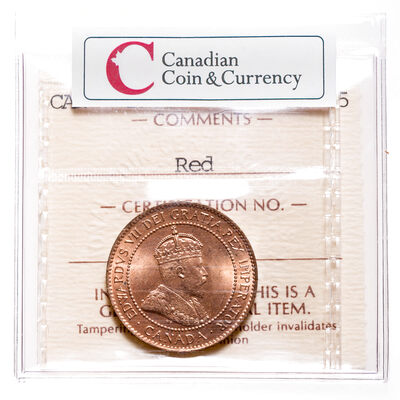 1 cent 1905 Red ICCS MS-65