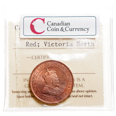 1 cent 1908 Red ICCS MS-65