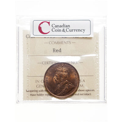 1 cent 1915 Red ICCS MS-63