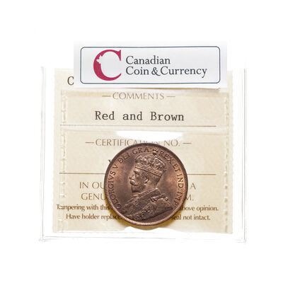 1 cent 1919 Red and Brown ICCS MS-64