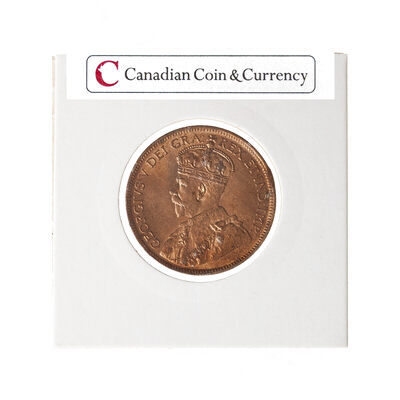 1 cent 1920  MS-63 Red
