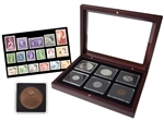 1953 Coronation Coin and Stamp Set