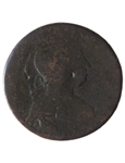Blacksmith 1/2 Penny Token BL-40A1 F-12