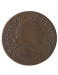Blacksmith 1/2 Penny Token BL-37 VF-20