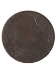 Blacksmith 1/2 Penny Token BL-37 F-12