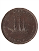 NB 1/2 Penny Token 1854 NB-1B VF-20
