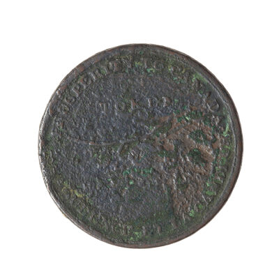 Upper Canada 1/2 Penny Token 1824 UC-2A2 VG-10